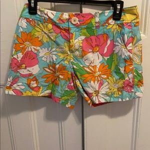"""Lilly Pulitzer """"paint by number"""" shorts"""